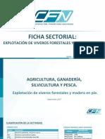 Ficha Sectorial Viveros y Madera en Pie - CFN