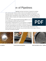 Inspection of Pipelines
