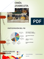 Resumen Económico del Municipio de Santa Isabel