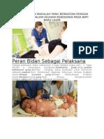 Memecahkan Masalah Yang Berkaitan Dengan Etikolegal Dalam Asuhan Kebidanan Pada Bayi Baru Lahir