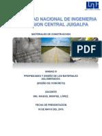IV Diseño de Concreto. 18-05-19