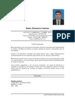 Hoja de Vida Daniel Piedrahita C.