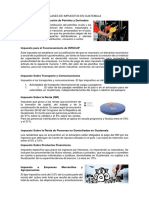 Clases de Impuestos en Guatemala
