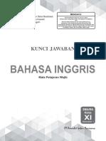 Kunci Jawaban PR Bahasa Inggris 11A Edisi 20199