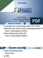 Banco de Dados_Introdução