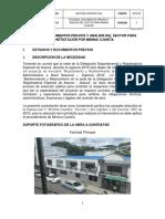 Estudio Previo Int. Delegación de Arauca