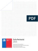 Guía perinatal 2015