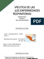 Terapeutica de Las Principales Enfermedades Respiratorias 1