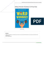 Book Word Workout Building a Muscular Vocabulary in 1