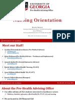 Pre Nursing PowerPoint