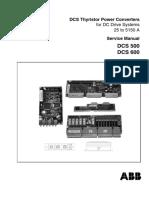 DCS500 DCS600 User manual