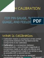 Length calibration For pin gauge and feeler gauge.- sarmiento.pptx