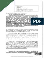 Sentencia del 15 Juzgado de Garantía de Santiago