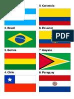 Bandero Sub America