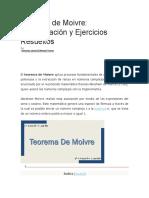 Teorema de Moivre.docx