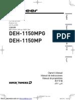 Super Tuner III d Deh-1150mp