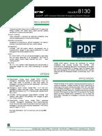 Haws Model 8130 Specsheet PDF