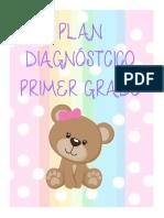 PLAN DIAGNOSTICO PREESCOLAR