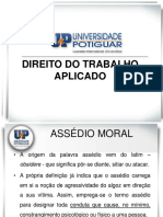 Assédio Moral e Sexual