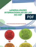 1. Generalidades Internacionales de Las Niif