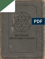 ***Pactum de Singularis Caelum