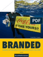 IN SEARCH OF THE WORLD'S TOP CORPORATE PLASTIC POLLUTERS
