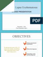 lupus case presentation