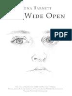 Eyes Wide Open Fiona Barnett First Edition August 2019