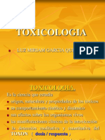 TOXICOLOGIA INTRODUCCION