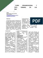 Arnoletto, Clima Organizacional y Comportamiento Humano en Las Organizaciones Si