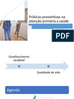 Práticas Preventivas Na Atenção Primária a Saúde
