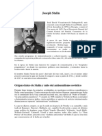El origen judío de Joseph Stalin