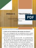 Unidad II Trastornos Del Animo, Ansiedad, Personalidad (1)