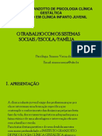 A Psicologia e Os Sistemas Sociais