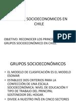 Grupo Socioeconomicos en Chile