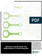 Dynamic Load Analysis and Optimization of Connecting Rod