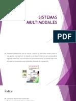 SISTEMAS MULTIMODALES