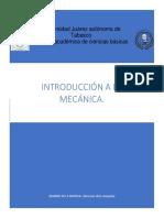 Introducció a La Mecánica.