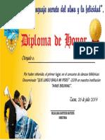 DIPLOMA2019primer Lugar