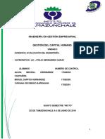 MARCO TEÓRICO - Evaluacion de Desempeño