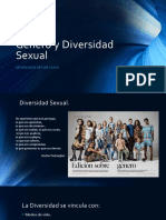 Género y diversidad sexual.