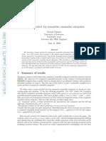 Tensor product for symmetric monoidal categories