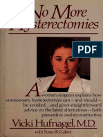 No More Hysterectomies pdf ebook - Hufnagel, Vicki;Golant, Susan K