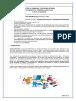 Gfpi-f-019 Versión 03 Guia 220501006-1 Analizar Los Subsistemas Para La Generación de Las Soluciones