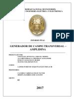 GENERADOR DE CAMPO TRANSVERSAL - AMPLIDINA