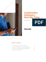 Construction Softwares Next Big Thing