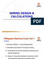 Wiring Design & Calculations