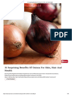 31 Surprising Benefits of Onions for Skin, Hair and Health