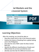 AE18.1 Financial Markets and Financial System