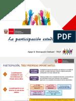 participación estudiantil en las escuelas